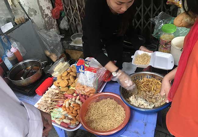 hanoi street foods