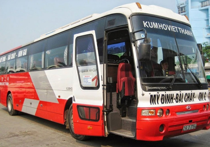 how to go to halong hanoi halong bus