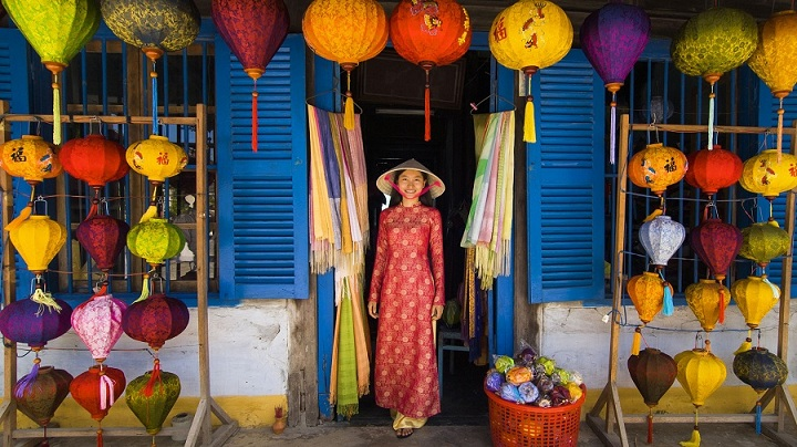 lantern at hoi an ancient town