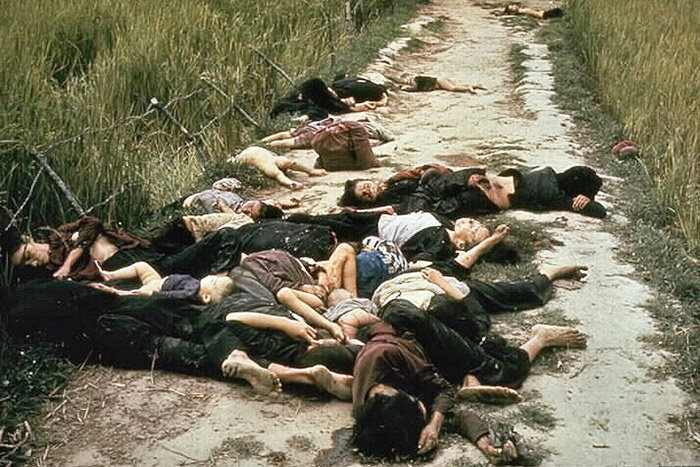 massacre of my lai vietnam photo of victims