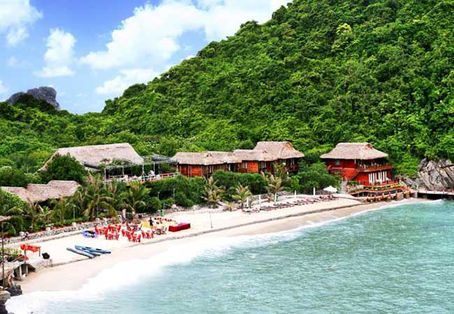 monkey island resort in cat ba island