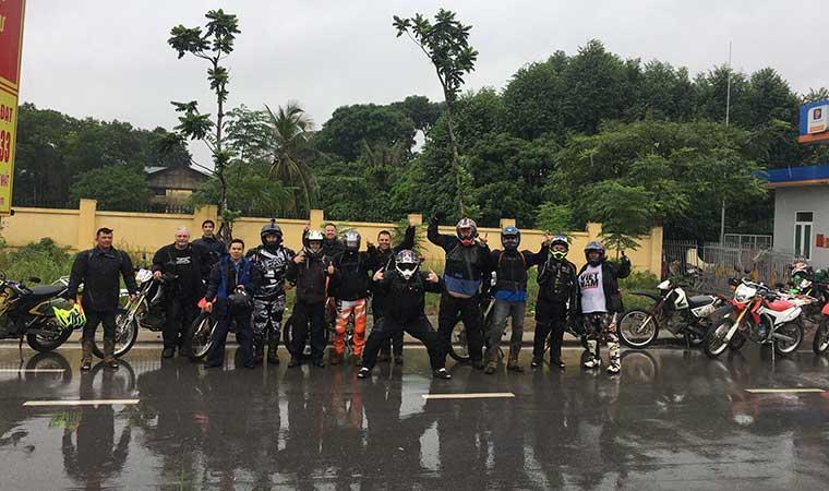 motorbike to ninh binh