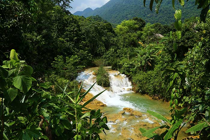 pu luong vietnam what to do in 2 or 3 days ban hieu waterfall