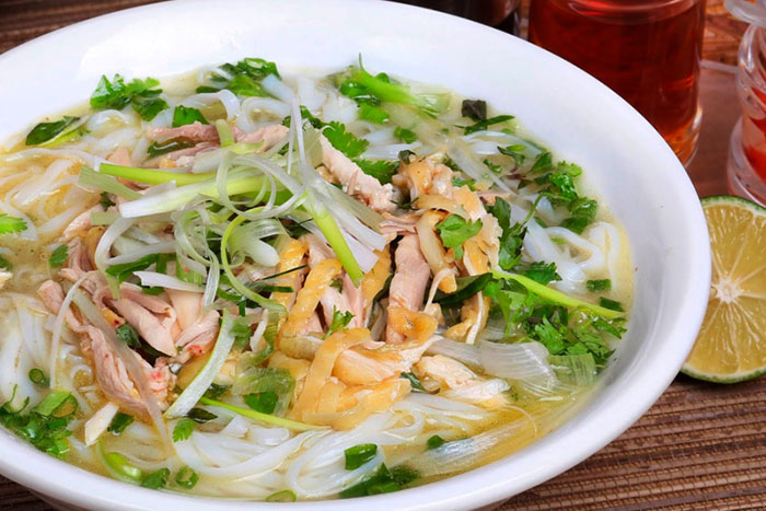 street food in hanoi pho soup