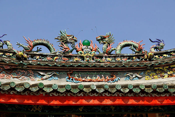 temple chinois trieu chau visiter hoi an roof
