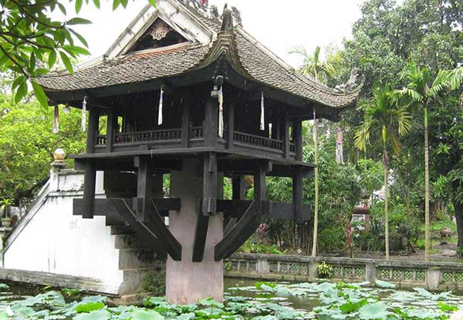 the one pillar pagoda