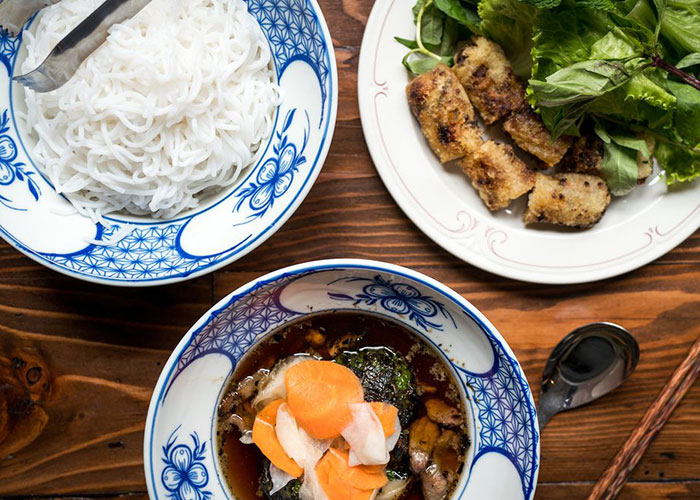 top 10 dishes of vietnam bun cha