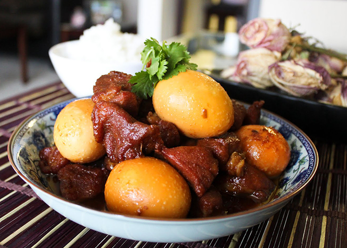 top 10 dishes of vietnam thit kho tau