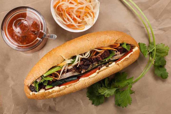 top 10 dishes banh my hanoi