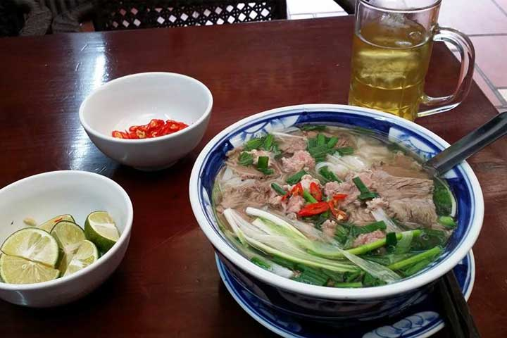 top 10 dishes pho hanoi