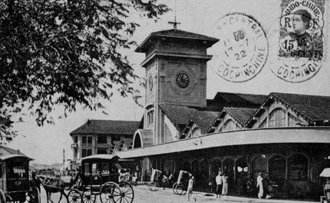 two famous market in Saigon Ben Thanh in the past