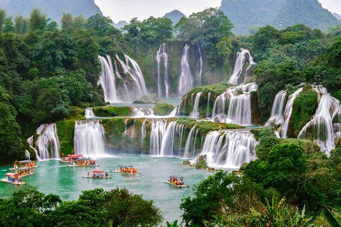 visit cao bang in 2 or 3 days ban gioc waterfall