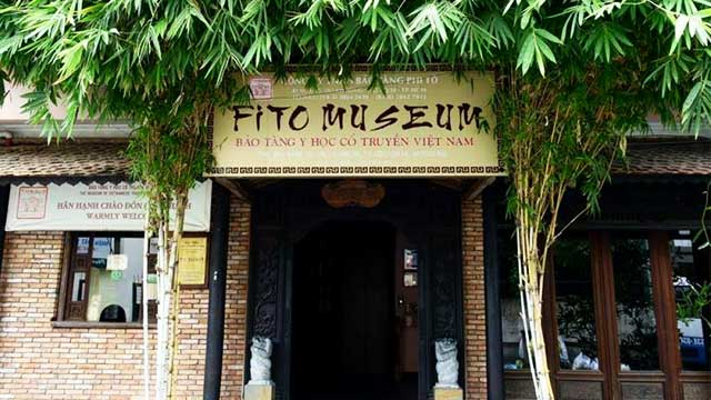 visit vietnam visit Fito museum traditional entry