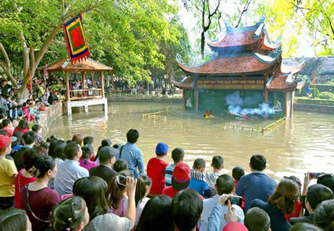 water puppet show in vietnam museum of ethnology