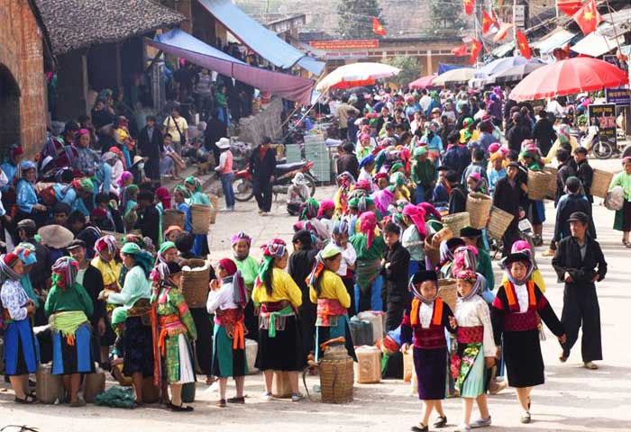 what to visit in Ha Giang northen market