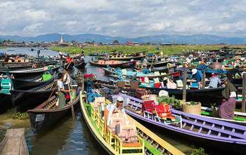 Mandalay – Fly to Heho – Inle Lake tour (B/-/-)