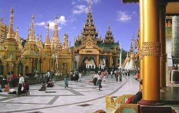 Yangon full day city tour (B/-/-)