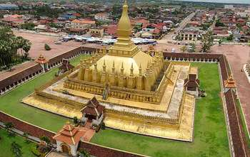 Vientiane full day city tour (B/-/-)