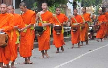 Luang Prabang – City Tour - Khuang Si fall –full day (B/L/-)