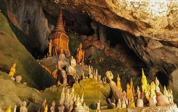 Luang Prabang – Pak Ou cave – Local village (B/-/-) full day