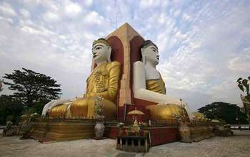 Golden Rock – Bago visit – Yangon (B/-/-)