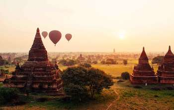 Yangon – Fly to Bagan – full day tour (B/-/-)