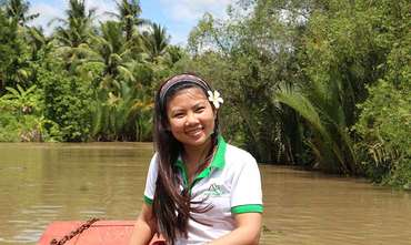 The Beauty of Mekong Delta River